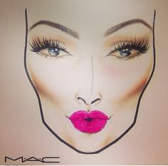 MAC facechart                                                                                                                                                                                 Más                                                                                                                                                                                 Más