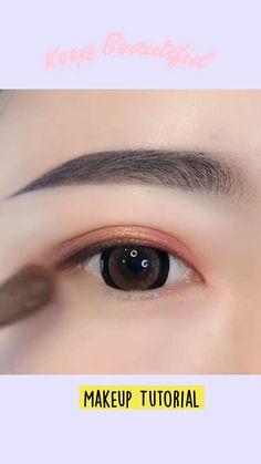 Eyebrow Makeup Tips, Eye Makeup Steps, Beauty Makeup Tips, Hair Makeup, Beauty Secrets, Eye Makeup Pictures, Korean Eye Makeup, Eye Makeup Designs, Creative Makeup Looks