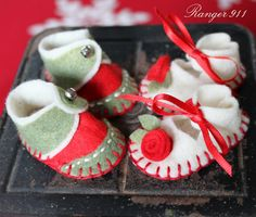 Ranger 911: Twinkle Toes, baby's first Christmas ornament