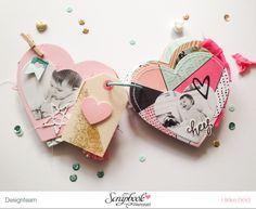"Mini ""Love You"" mit Crate Paper ""Hello Love"" von Ulrike Dold Mini Albums Scrap, Mini Scrapbook Albums, Scrapbook Paper Crafts, Scrapbook Cover, Scrapbook Journal, Mini Album Tutorial, Mini Books, Scrap Books, Flip Books"