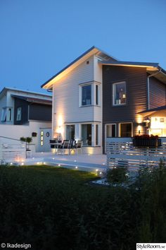 belysning,trädgård,altan,hus