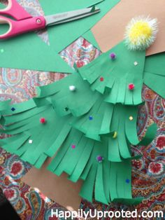 3d knutsel: Christmas Craft: Our Thankful Tree and Countdown to Christmas! 40 days of Christmas!