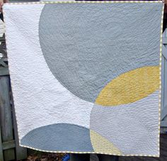 I'm thinking about making one of these here modern quilts but I'm afraid I'm too old fashioned.