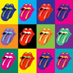 New pop art logo andy warhol 63 ideas Andy Warhol Pop Art, Andy Warhol Marilyn, Rolling Stones Logo, Fond Pop Art, Arte Marilyn Monroe, Whats Wallpaper, The Velvet Underground, Desenho Pop Art, Pop Art Background