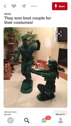 Army men costume