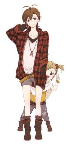 Barakamon -- Miwa and Naru