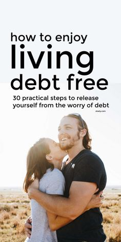 Use these debt free living ideas to kick start your debt free journey and embrace financial freedom. The simple, practical debt free living steps will help you slash your spending so you can use debt pay off techniques like the debt snowball method from Dave Ramsey to save money and live debt free. #debtfree #debtfreeliving #debtfreeideas #daveramsey #debtsnowball