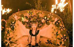 Beltane Fire Festival in Edinburgh. Beautiful.