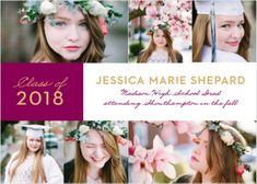 Banner Year Graduation Announcements ensure that your big day is spent surrounded by the people that you care about most. Customize your cards today! Graduation Announcements, Your Cards, Big Day, Senior 2018, Banner, Success, Invitations, Graduation Ideas, People