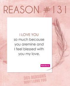 Reasons Why I Love You #131
