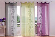 Flachenvorhang Mit Klettband ~ Details zu flächenvorhang schiebegardine mit klettband ausbrenner