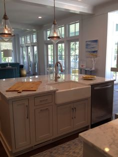 Coastal Living Idea Home on Daniel Island, SC - Kitchen