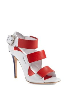 Alexander McQueen Tri-Strap Sandal available at #Nordstrom