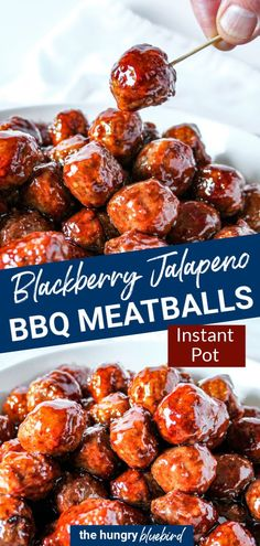 Spicy Appetizers, Appetizers For A Crowd, Appetizer Recipes, Meatball Appetizers, Spicy Meatballs, Mini Meatballs, Healthy Snacks, Healthy Recipes, Crockpot Recipes
