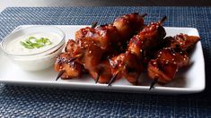 Grilled Chicken Teriyaki with Miso Ranch Video