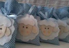 Resultado de imagem para lembrancinha chá de bebe ovelha