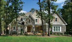 Asheville 1131 Model Roof: Owens Oarkridge/Driftwood Main Body: SW 7028 Balanced Beige Shake:  Trim: SW 7028 Incredible White Coronado: Country Rubble/Gray