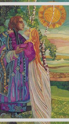 Resultado de imagen de tarot los amantes