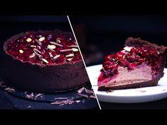 Cheesecake cu Ciocolata si Visine Fara Coacere & Fara Gelatina - YouTube Cheesecakes, Panna Cotta, The Creator, Ethnic Recipes, Desserts, Food, Youtube, Tailgate Desserts, Dulce De Leche