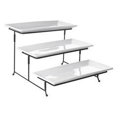 3 Tier Rectangular Serving Platter Three Tiered Cake Tray Stand Food Server Display Plate Rack White - Stack your style and your Hors du0027oeuvres with the ...  sc 1 st  Pinterest & ServerRacksinAustralia ERNTEC provides great quality server racks of ...