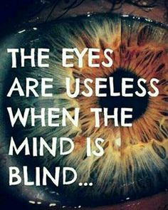 The eyes are useless when the mind is blind. #smile #positivevibes #positivity #hope #balance #innerpeace #awakening #thoughtprovoking #goodvibes #happylife #passiton #self #uplifting #centered #lovelife Here's to a wonder-filled Wednesday.