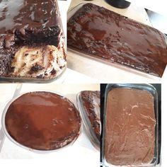 Μια ταψάρα Λατρεμένη Σοκολατόπιτα Sheet Pan, Sweets, Chocolate, Desserts, Food, Springform Pan, Tailgate Desserts, Deserts, Gummi Candy