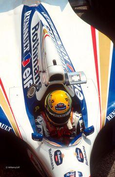 Williams de Ayrton Senna