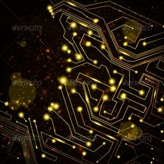 circuit board vector background #GraphicRiver circuit board vector…