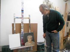Alaston kriitikko: Taiteilijoiden työhuoneilla Jarmo Mäkilä ja äidin muotokuva. Art Studios, Portraits, Artist, Head Shots, Artists, Portrait Photography, Artist Studios, Portrait Paintings, Headshot Photography