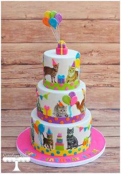 Cats kitten cake / poezen taart