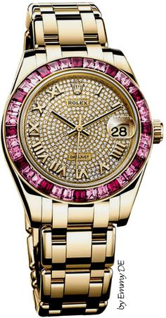 In some cases part of that image is the quantity of money you invested to use a watch with a name like Rolex on it; it is no secret how much watches like that can cost. Luxury Watches, Rolex Watches, Cool Watches, Watches For Men, Sacs Design, Beautiful Watches, Audemars Piguet, Fashion Bags, Shopping Bag