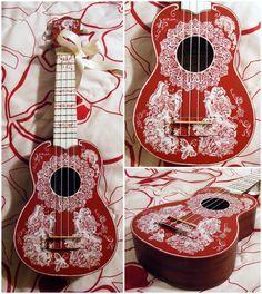 Custom Ukulele by istarith.deviantart.com on @DeviantArt