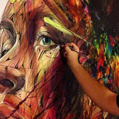 Détail canvas 195x114 Huile / acrylique sur lin. Mai 2015  https://www.facebook.com/permalink.php?story_fbid=1602551683347409&id=100007777789106