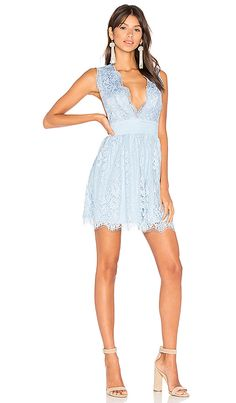 Shop for MAJORELLE Moonlit Dress in Dusty Blue at REVOLVE. Free 2-3 day shipping and returns, 30 day price match guarantee.