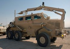 US Army (USA) Buffalo Armored Personnel Carrier Vehicle