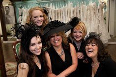 Alicia's Bridal Staff Photo - Toni Lynn Photography #blackhats #laughing #candid #staffphoto