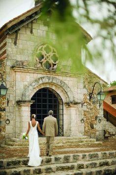 Wedding chapel at Casa de Campo in La Romana, Dominican Republic