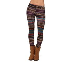 Nollie Sweater Leggings by None, via Polyvore