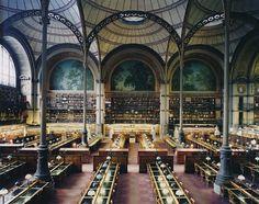 henri labrouste    bibliothèque nationale   paris