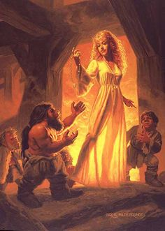 Freya & The Necklace of the Brislings by Greg Hildebrandt