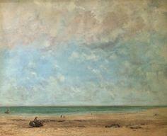 Courbet. Seashore  National Museum in Warsaw