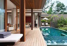 Three-Bedroom Oceanfront Pool Villa