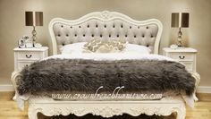 Furnish your bedroom in style with Crown French Furniture. Take a look at our beautiful French beds and French bedroom furniture to find the perfect match at Crown French Furniture. French Furniture, Cheap Furniture, Shabby Chic Furniture, Contemporary Furniture, Bedroom Furniture, Bedroom Decor, Silver Furniture, European Furniture, Office Furniture