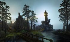 World of Warcraft: Cataclysm Art & Pictures, Lighthouse