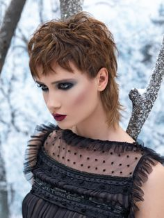 Angels & Devils I by Paul Gehring for Alcina @ Coiffure Beauty November 2013 www.coiffure-beauty.com