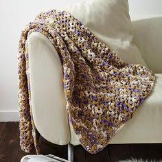 Unbelievably Easy Crochet Blanket