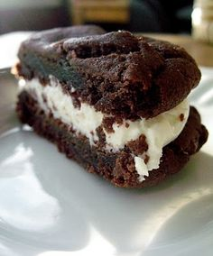 Homemade Oreos...from a cake mix!!