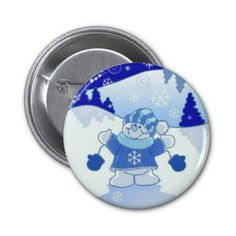 LET IT SNOW CHRISTMAS PINS