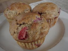 Strawberry Banana Muffins–Annie's Eats