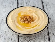Recipe for homemade Delicious and Creamy Hummus